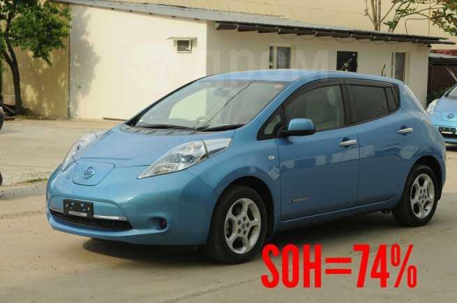 Nissan Leaf, 2012 год, 539 999 руб.