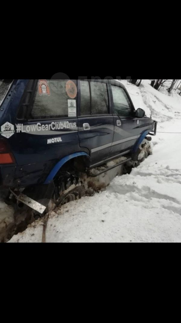 SsangYong Musso, 2001 год, 249 999 руб.