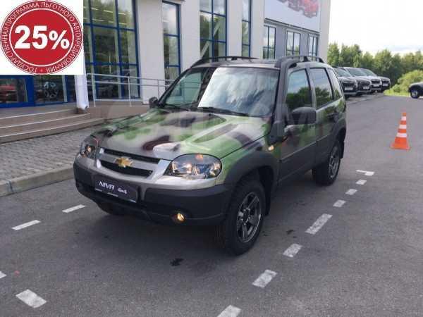 Chevrolet Niva, 2019 год, 603 000 руб.