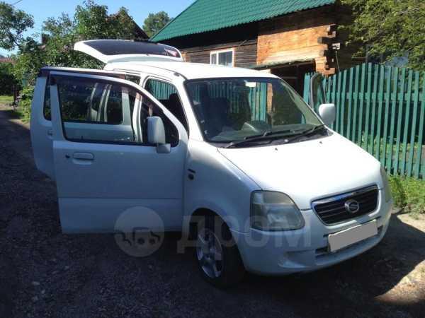Suzuki Wagon R Solio, 2001 год, 135 000 руб.