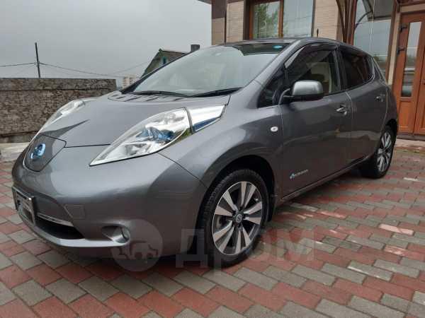 Nissan Leaf, 2015 год, 510 000 руб.