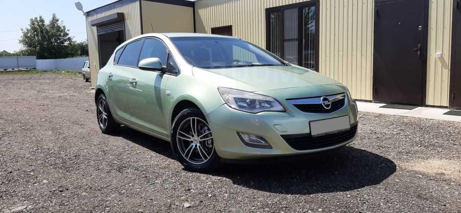 Opel Astra, 2011 год, 435 000 руб.