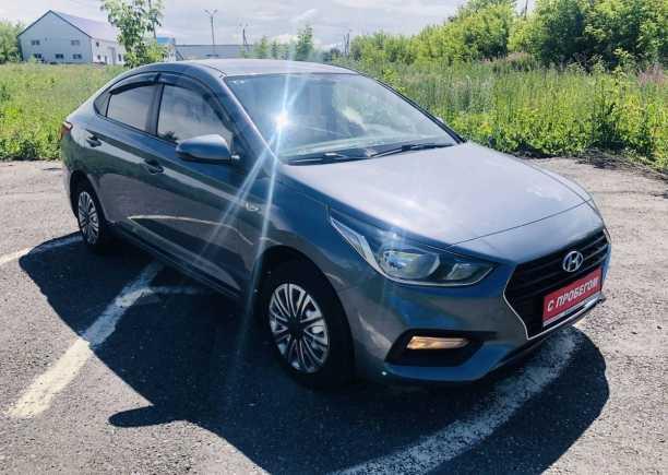 Hyundai Solaris, 2018 год, 700 000 руб.
