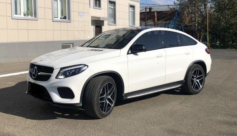 Mercedes-Benz GLE Coupe, 2017 год, 4 300 000 руб.