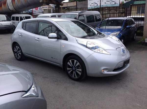 Nissan Leaf, 2015 год, 629 000 руб.