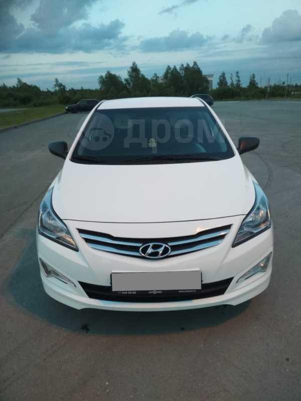 Hyundai Solaris, 2016 год, 555 000 руб.