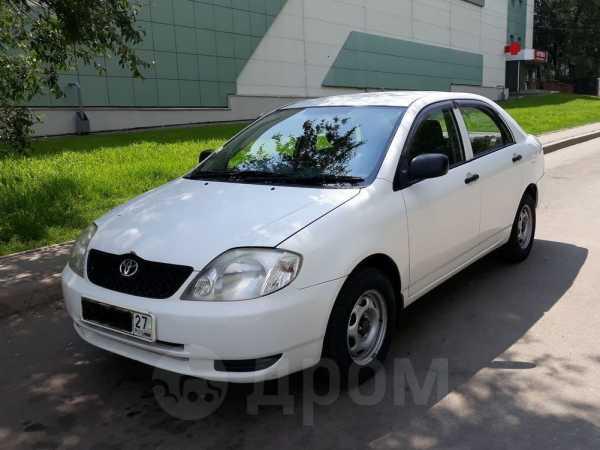 Toyota Corolla, 2002 год, 368 000 руб.