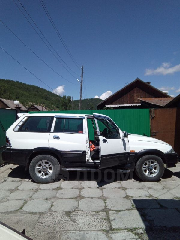 SsangYong Musso, 2002 год, 350 000 руб.