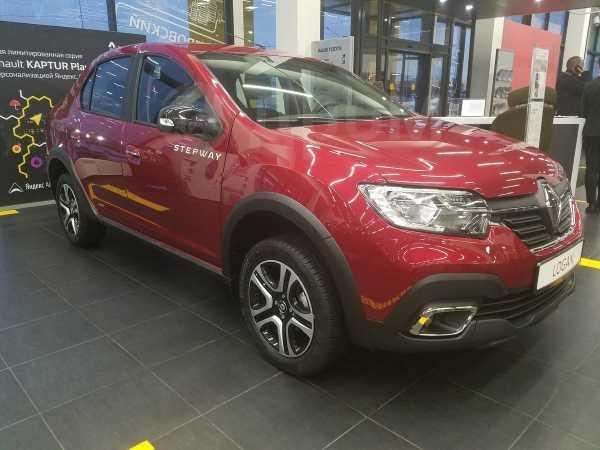 Renault Logan Stepway, 2019 год, 735 970 руб.