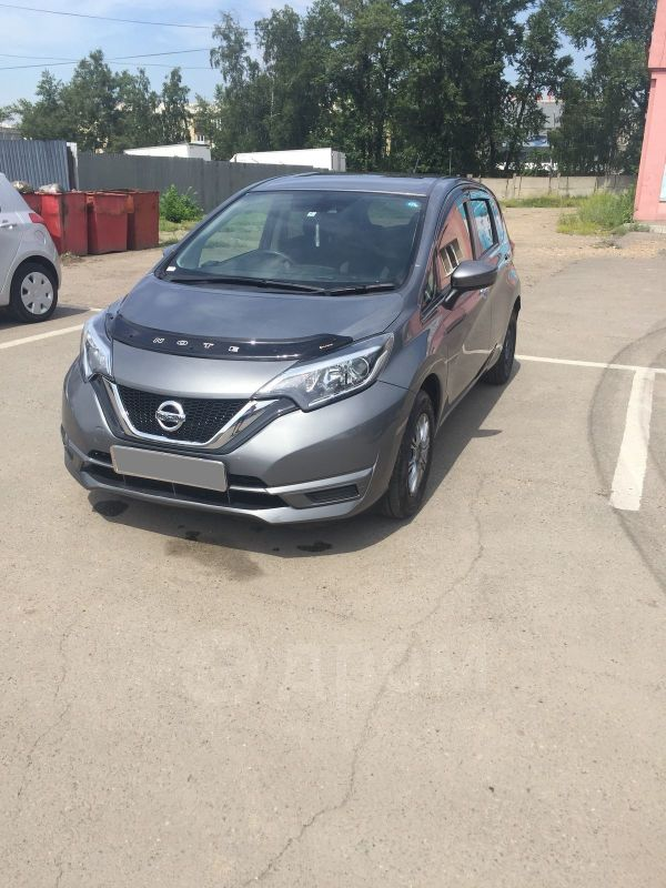 Nissan Note, 2017 год, 500 000 руб.