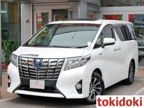 Toyota Alphard, 2016 год, 2 450 000 руб.