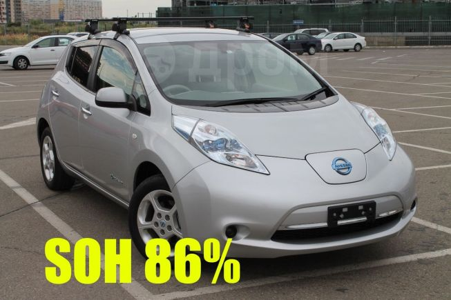 Nissan Leaf, 2012 год, 585 000 руб.