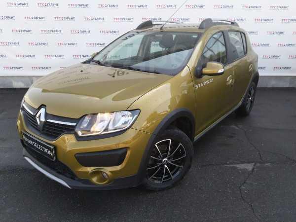 Renault Sandero Stepway, 2016 год, 654 400 руб.
