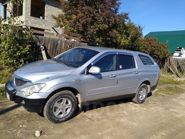 SsangYong Actyon Sports, 2007 год, 250 000 руб.