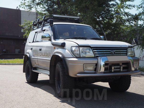 Toyota Land Cruiser Prado, 2001 год, 1 000 001 руб.