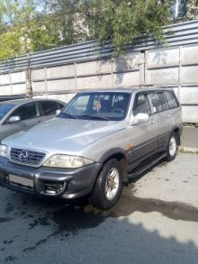 SsangYong Musso, 2002 г., Томск