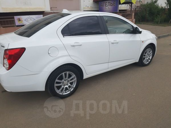 Chevrolet Aveo, 2012 год, 455 000 руб.