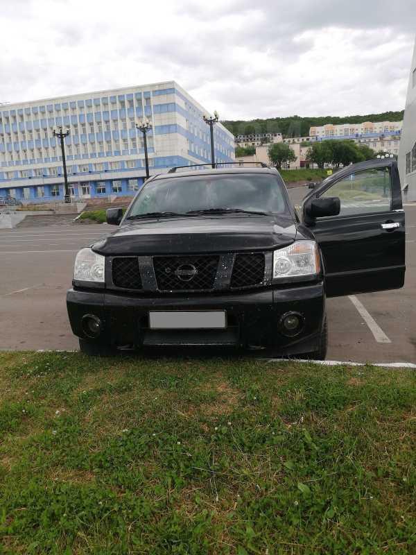 Nissan Armada, 2003 год, 640 000 руб.