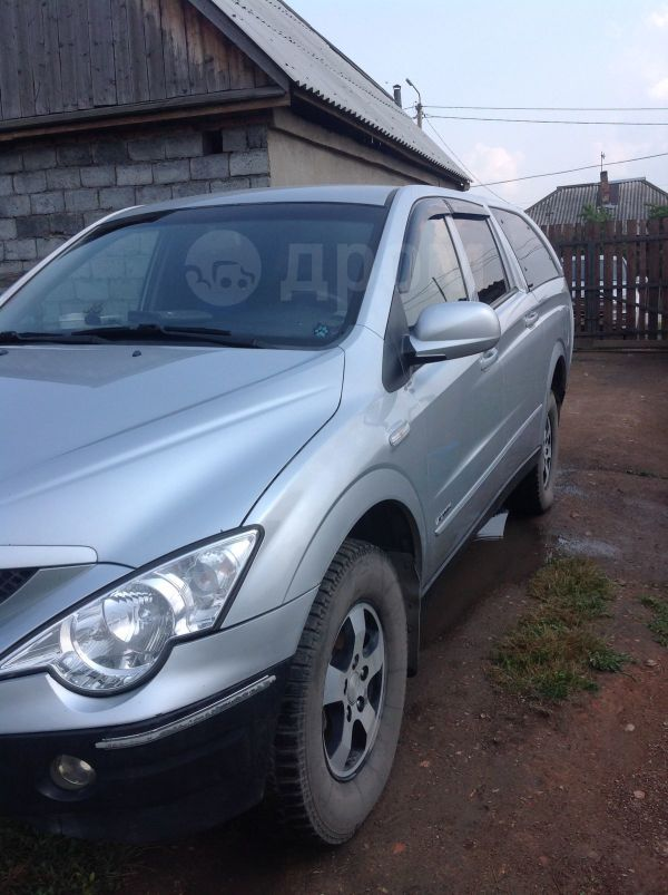SsangYong Actyon Sports, 2007 год, 380 000 руб.