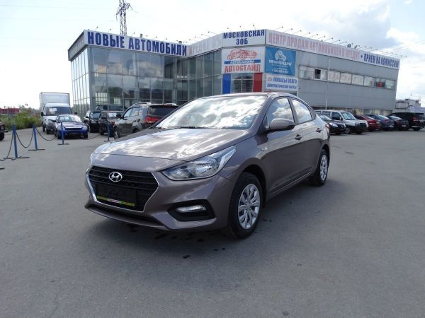 Hyundai Solaris, 2018 год, 837 000 руб.