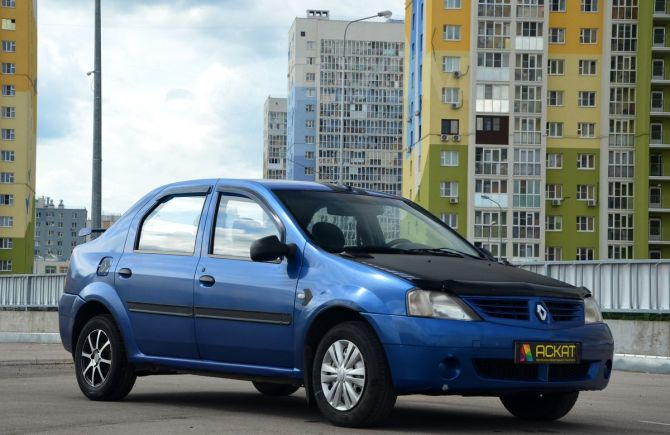 Renault Logan, 2008 год, 165 000 руб.