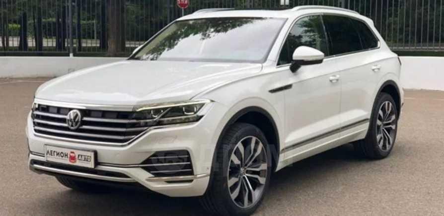 Volkswagen Touareg, 2019 год, 4 880 000 руб.
