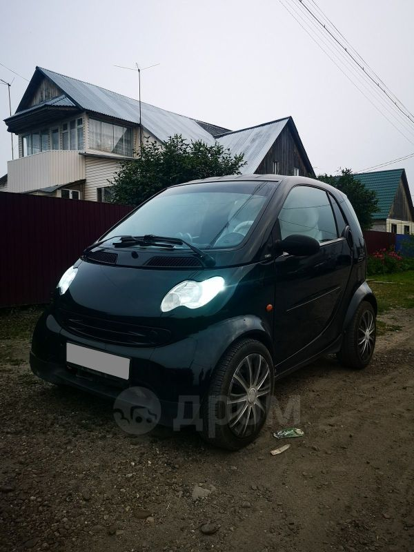 Smart Fortwo, 2002 год, 265 000 руб.