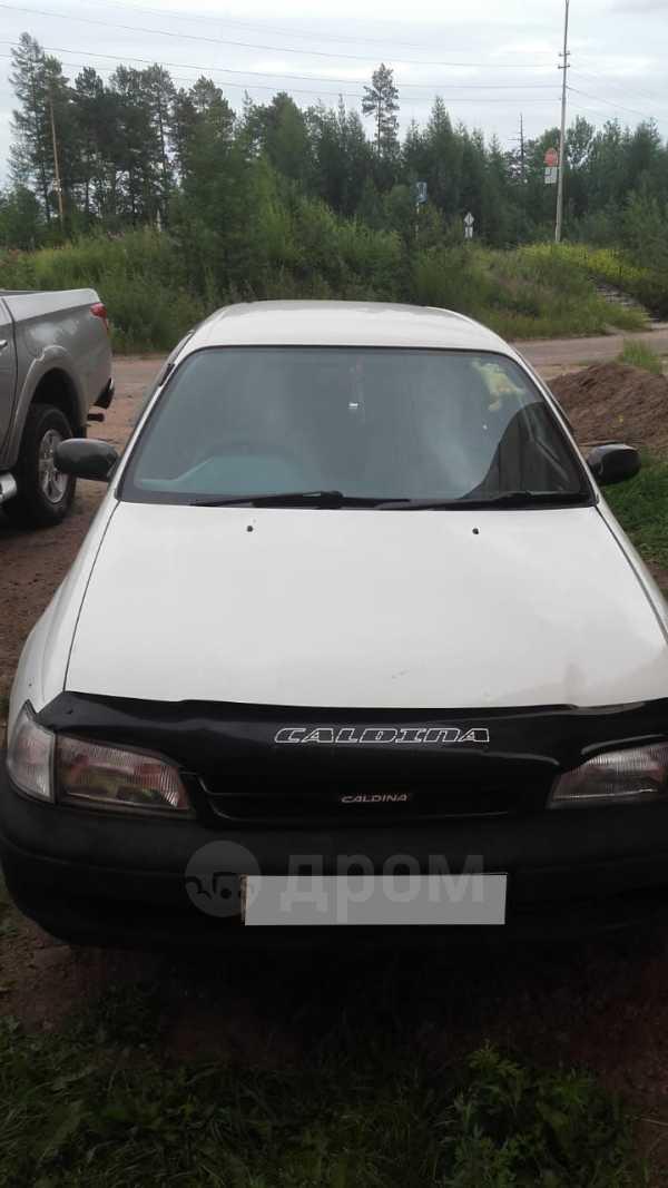 Toyota Caldina, 2001 год, 210 222 руб.