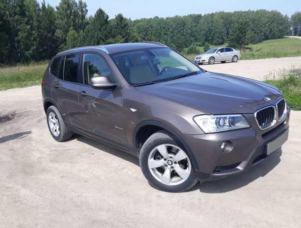 BMW X3, 2012 год, 1 290 000 руб.