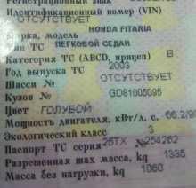 Омск Fit Aria 2003