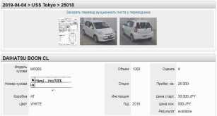 Владивосток Daihatsu Boon 2016