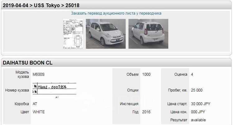 Daihatsu Boon, 2016 год, 455 000 руб.