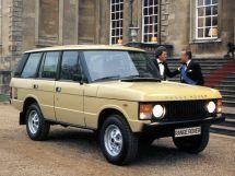 Land Rover Range Rover 1981, джип/suv 5 дв., 1 поколение, LH