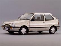 Nissan March 2-й рестайлинг 1989, хэтчбек 3 дв., 1 поколение, K10