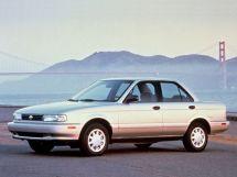 Nissan Sentra 1990, седан, 3 поколение, B13