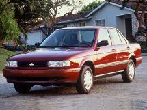 Nissan Sentra рестайлинг 1992, седан, 3 поколение, B13