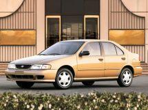 Nissan Sentra 1994, седан, 4 поколение, B14