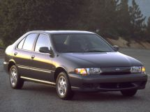 Nissan Sentra рестайлинг 1998, седан, 4 поколение, B14