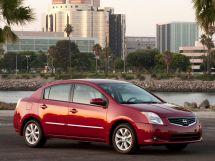 Nissan Sentra рестайлинг 2009, седан, 6 поколение, B16