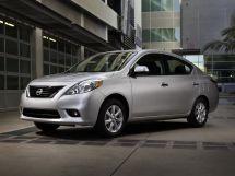 Nissan Versa 2 поколение, 10.2011 - 02.2014, Седан