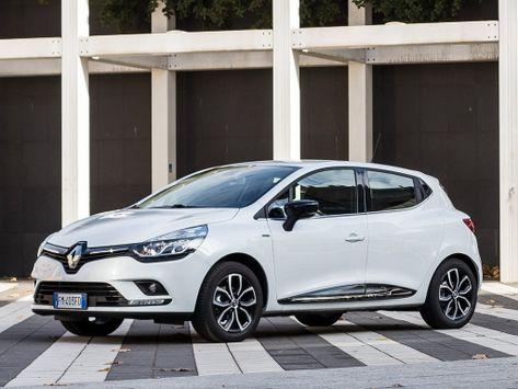 Renault Clio (BH98) 09.2016 -  н.в.