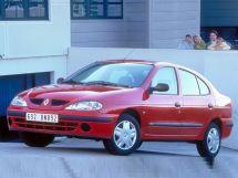 Renault Megane рестайлинг, 1 поколение, 03.1999 - 08.2002, Седан