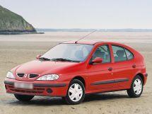 Renault Megane рестайлинг, 1 поколение, 03.1999 - 08.2002, Хэтчбек 5 дв.