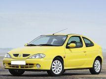 Renault Megane рестайлинг, 1 поколение, 03.1999 - 08.2002, Купе