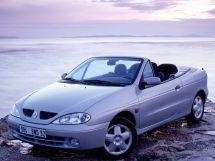 Renault Megane рестайлинг, 1 поколение, 03.1999 - 08.2002, Открытый кузов