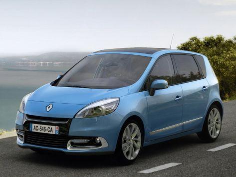 Renault Scenic (JZ) 01.2012 - 03.2013