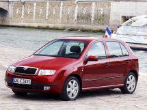 Skoda Fabia 1 поколение, 12.1999 - 07.2004, Хэтчбек 5 дв.
