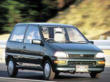 Subaru Rex рестайлинг 1989, хэтчбек 3 дв., 3 поколение, KH, KP
