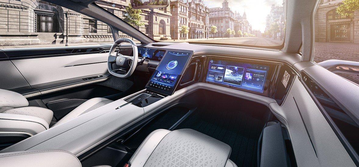 Китайский стартап Human Horizons представил новый электромобиль, он напоминает Faraday Future