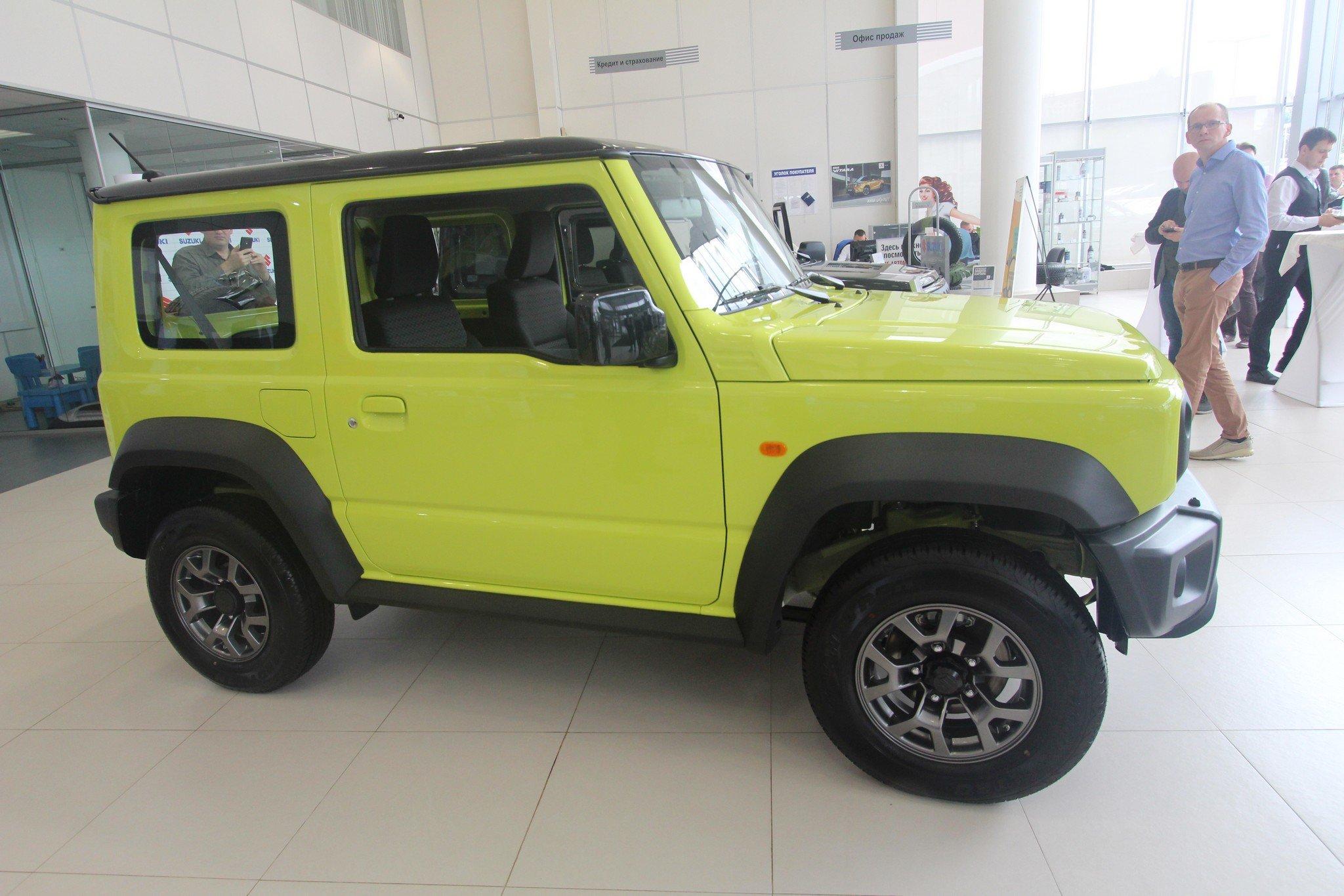 Новый Suzuki Jimny: старт продаж в России (ЦЕНЫ)